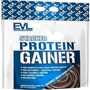 EVL – Stacked Protein Gainer (12 Lbs)