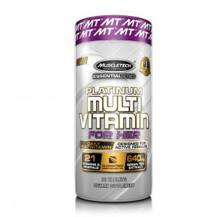 MUSCLETECH PLATINUM MULTIVITAMIN FOR HER, 90 TABLETS
