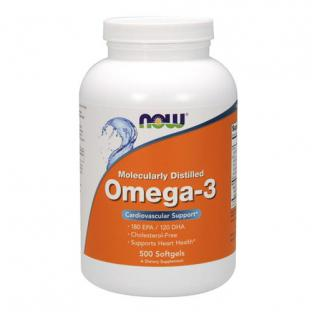 NOW OMEGA 3, 500 SOFTGELS