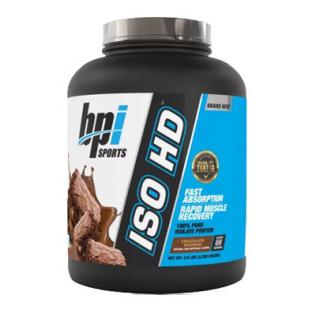 BPI ISO HD 100% PURE ISOLATE PROTEIN, 5 LBS (69 SERVINGS)